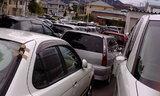 駐車場in幼稚園