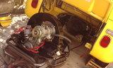 エンジン降ろしてクラッチ修理