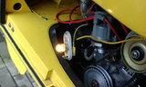 ナンバー灯の修理