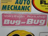 BugBug初代ステッカー